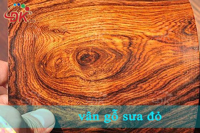 Vân gỗ sưa đỏ thuộc hàngnhất vân trong những loài gỗ tại Việt Nam